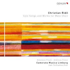 Christian Ridil (geb. 1943): Lieder & Werke für Männerchor, CD