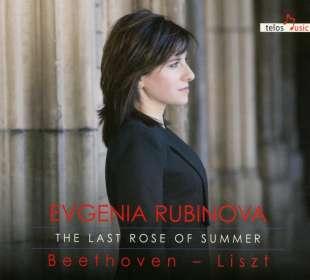 Evgenia Rubinova - The Last Rose of Summer, CD