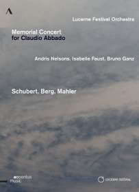 Lucerne Festival Orchestra - Memorial Concert for Claudio Abbado, DVD