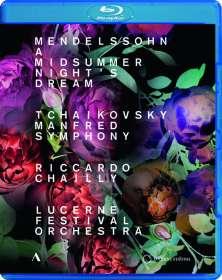 Lucerne Festival Orchestra - Mendelssohn / Tschaikowsky, Blu-ray Disc