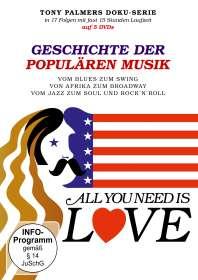 Tony Palmer: All you need is Love - Geschichte der populären Musik, DVD