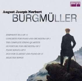 Norbert Burgmüller (1810-1836): Orchester- & Kammermusik (Exklusiv für jpc), 4 CDs