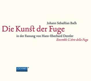 Als CD: Die Kunst der Fuge BWV 1080, 2 CDs