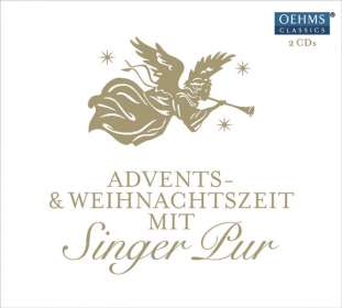 Singer Pur  - Adventskalender 2016 - Advents- & Weihnachtszeit mit Singer Pur, 2 CDs