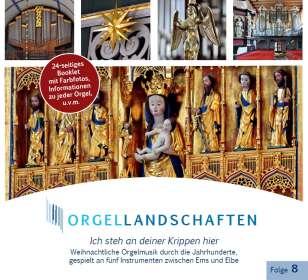Orgellandschaften Vol.8 - Ich steh an deiner Krippen hier, CD