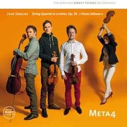 """Jean Sibelius (1865-1957): Streichquartett op.56 """"Voces intimae"""" (Direct to Disc Recording / Nummerierte Auflage) (180g), LP"""