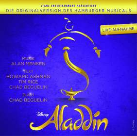 Aladdin - Originalversion des Hamburger Musicals, CD