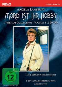Anthony Pullen Shaw: Mord ist ihr Hobby - Spielfilm Collection Vol. 1, DVD