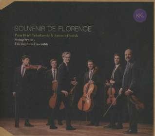 Peter Iljitsch Tschaikowsky (1840-1893): Souvenir de Florence für Streichsextett, CD