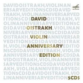 David Oistrach - Anniversary Edition, 5 CDs