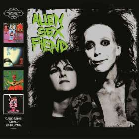 Alien Sex Fiend: Classic Albums Vol.2, 4 CDs