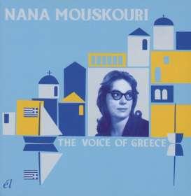 Nana Mouskouri: The Voice Of Greece (3CD Boxset), 3 CDs