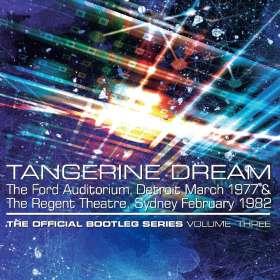 Tangerine Dream: Official Bootleg Series Vol. 3, 4 CDs