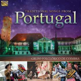 Grupo Folclorico De Coimbra: Traditional Songs From Portugal, CD