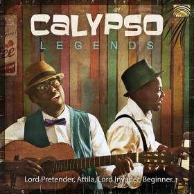 Calypso Legends, CD