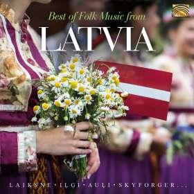 Best Of Folk Music Grom Latvia, CD