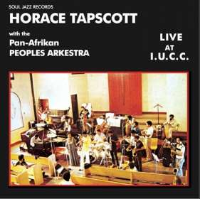 Horace Tapscott (1934-1999): Live At I.U.C.C., CD