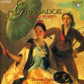 Enrique Granados (1867-1916): Sämtliche Klavierwerke, 6 CDs