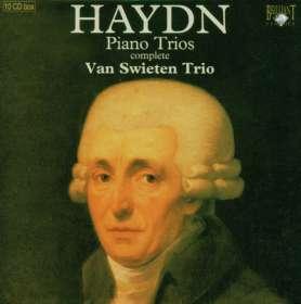 Joseph Haydn (1732-1809): Die 45 Klaviertrios, 10 CDs