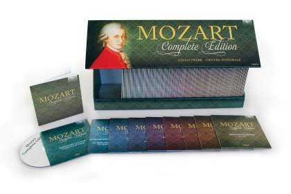 Wolfgang Amadeus Mozart (1756-1791): Mozart Complete Edition (Brilliant Classics-Edition 2014), 170 CDs