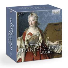 French Harpsichord Music, 29 CDs