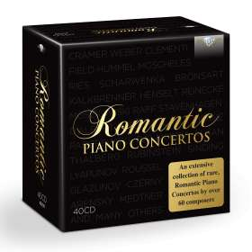 Romantic Piano Concertos, CD