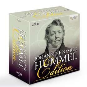 Johann Nepomuk Hummel (1778-1837): Johann Nepomuk Hummel-Edition (Brilliant), 20 CDs