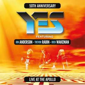 Yes: Live At The Apollo: 50th Anniversary, 2 CDs