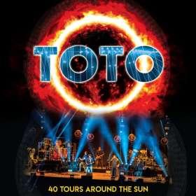 Toto: 40 Tours Around The Sun (180g) (Limited-Edition) (Opaque Orange Vinyl), 3 LPs