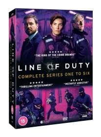 Line Of Duty Season 1-6 (UK-Import), DVD