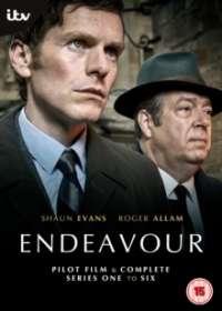 Endeavour Season 1-6 (UK Import), DVD