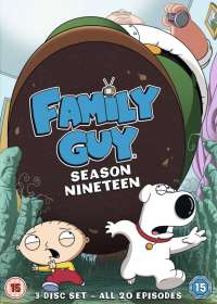Family Guy Season 19 (UK Import), DVD