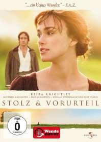 Stolz und Vorurteil (2005), DVD