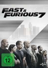 Fast & Furious 7, DVD