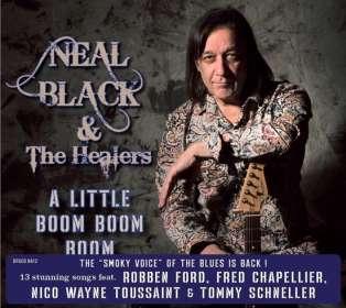 Neal Black: A Little Boom Boom, CD