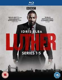 Luther Season 1-5 (Blu-ray) (UK Import), BR