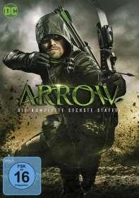 Arrow Staffel 6, DVD