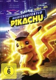 Rob Letterman: Pokémon Meisterdetektiv Pikachu, DVD