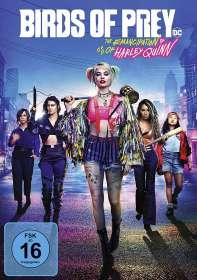 Cathy Yan: Birds of Prey - The Emancipation of Harley Quinn, DVD