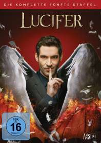 Lucifer Staffel 5, DVD