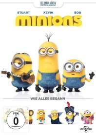 Minions, DVD
