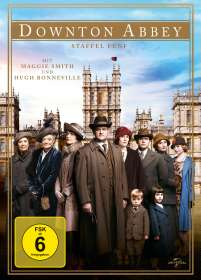 Downton Abbey Season 5, 4 DVDs