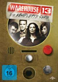 Warehouse 13 (Komplette Serie), DVD