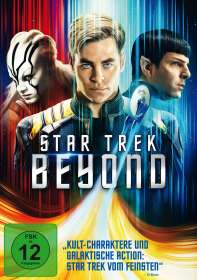 Star Trek Beyond, DVD