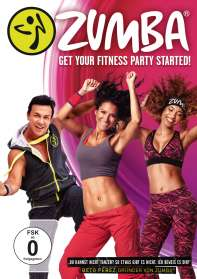 Zumba - Get your Fitness Party Started, DVD