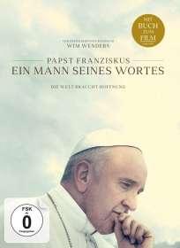 Wim Wenders: Papst Franziskus - Ein Mann seines Wortes (mit Buch zum Film), DVD