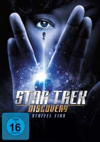 Star Trek Discovery Season 1, 4 DVDs