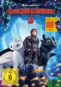 Drachenzähmen leicht gemacht 3 - Die geheime Welt, DVD