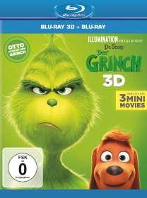 Yarrow Cheney: Der Grinch (2018) (3D & 2D Blu-ray), BR