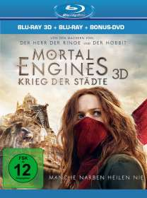 Christian Rivers: Mortal Engines: Krieg der Städte (3D & 2D Blu-ray), BR